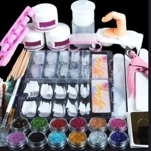 New Acrylic Nail Set (Monomer NOT included)